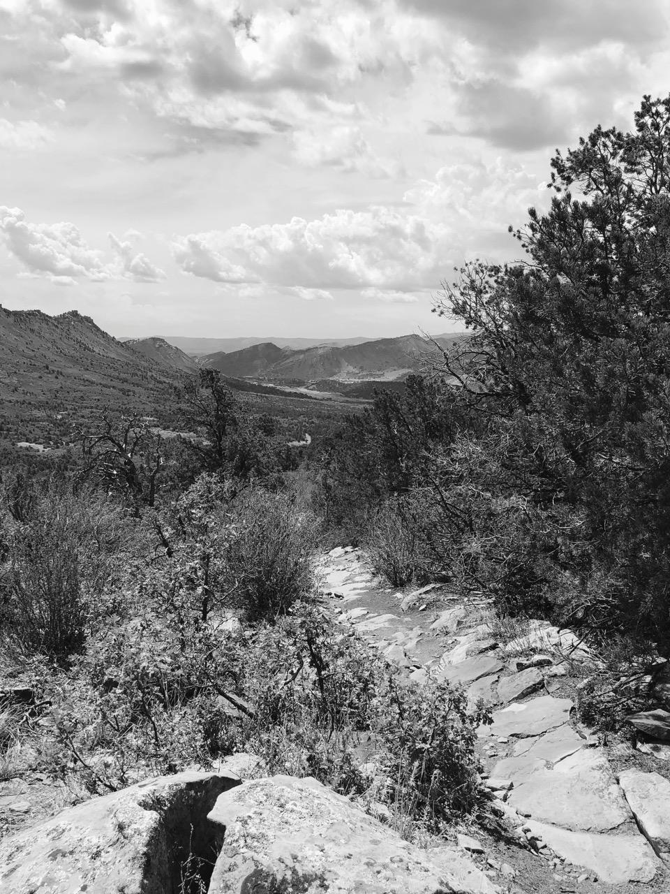 Durango hiking views
