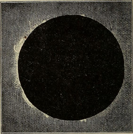 """A graphic from """"Elements of Astronomy"""" (1875), pg. 139"""