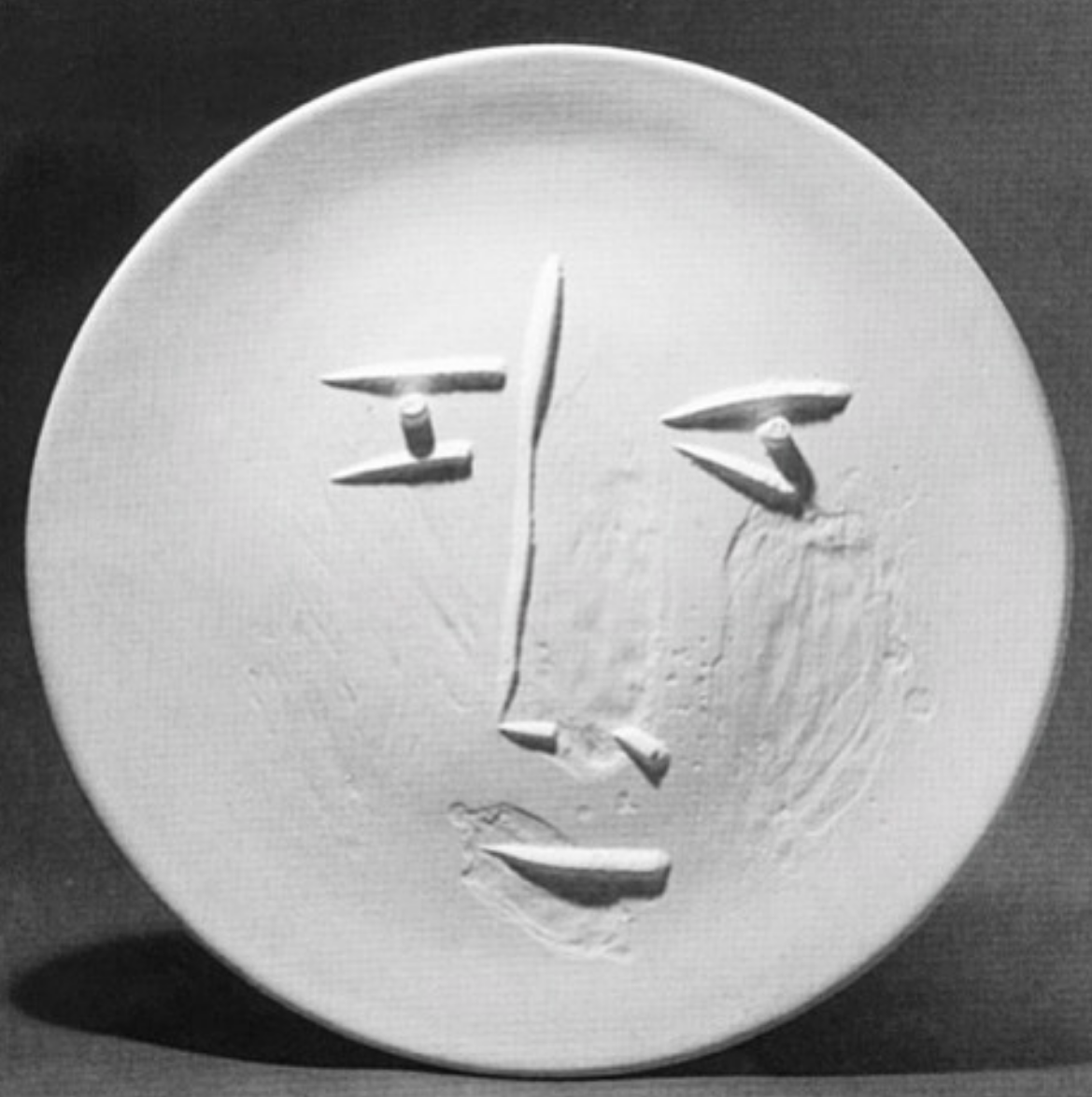 Picasso, Full-Face Face, 1959