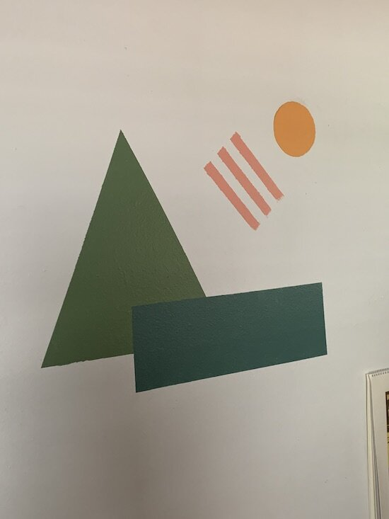 Creative act: wall art