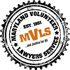 MARYLAND VOLUNTEER LEGAL SERVICES matches you with a free attorney if you meet income requirement