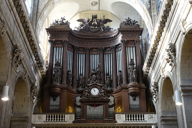 - The famous pipe organ was constructed by Aristide Cavaillé-Coll in 1862.