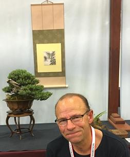 Greg Brenden with his Common Juniper