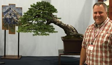Scott Elser with his Englemann Spruce