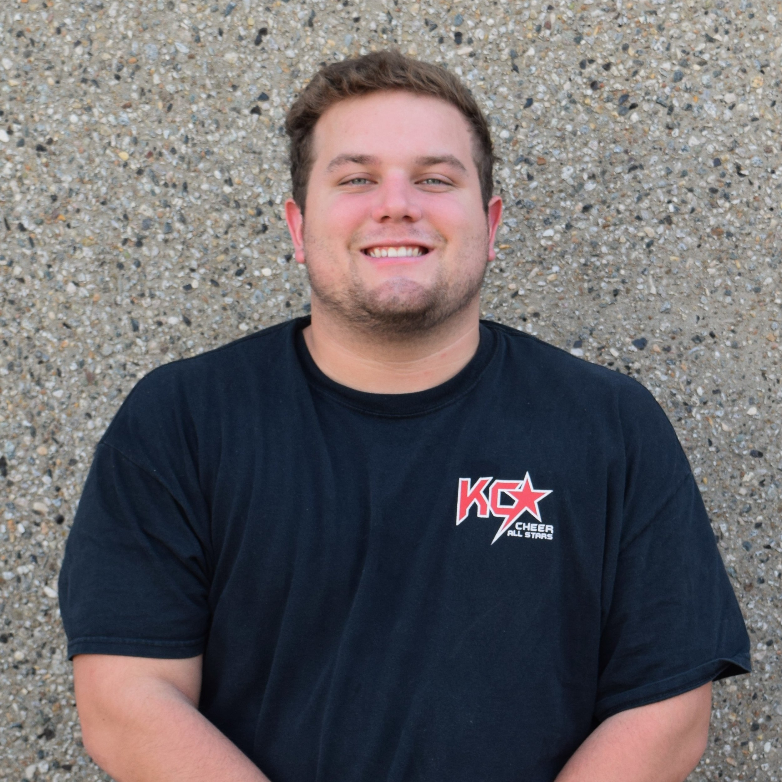 Harrison Whitney  Coach, Tumbling Instructor, Private Lessons  Harrison was an athlete at KC Cheer for 10 years and is starting his third year as a coach this season. He was on Fierce 5 for six years, where he led the team to a fourth place finish at The Cheerleading Worlds in 2014 and 5th place in 2015. Last year Harrison coached Fantasy and Ferocious, who both competed at the Summit at the end of the year. Harrison is a student at KU, and is available for private lessons.  Contact Harrison