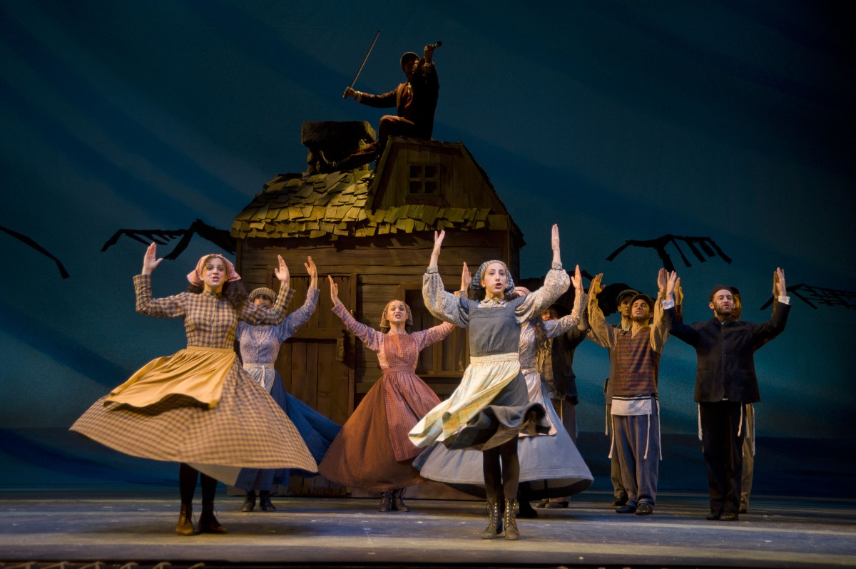Rivka,  Fiddler on the Roof , Barrington Stage