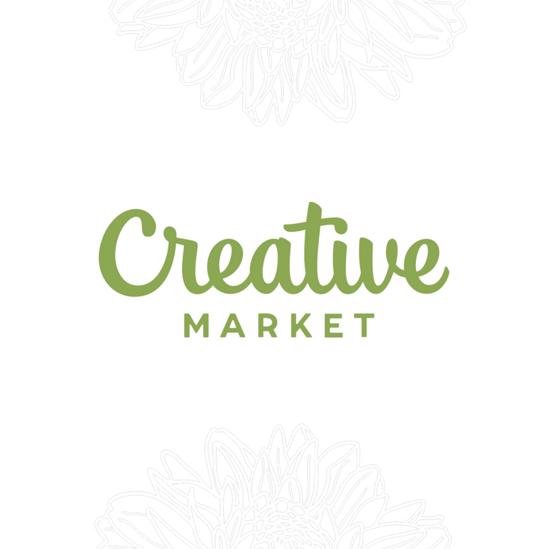 Creative Market   Creative Market is a creative hub for graphic designers and creatives to buy and sell their creations. I sell fonts and stock photos on there. My font Adelia was featured.