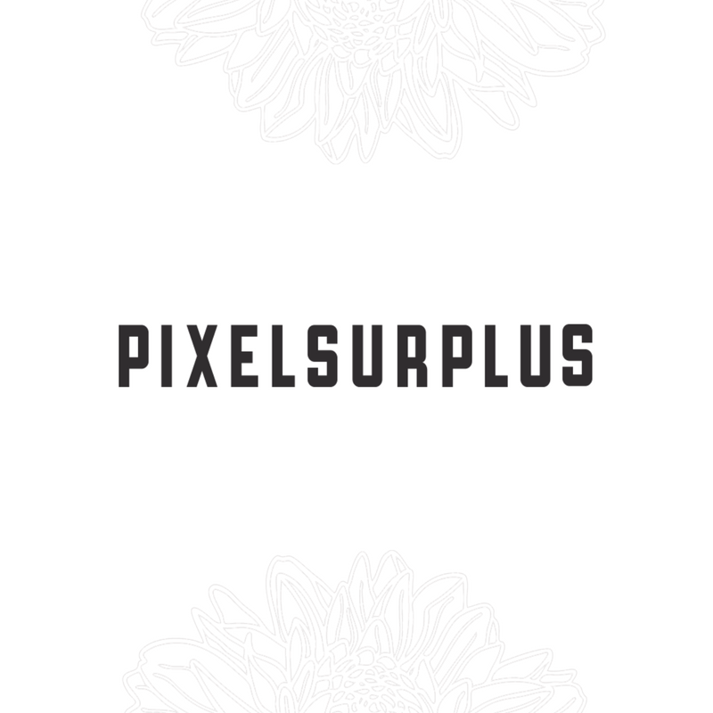 PIXELSURPLUS   I was approached by pixelsurplus to join their upcoming bundle and my font Delores was featured in their Jan-Feb bundle.