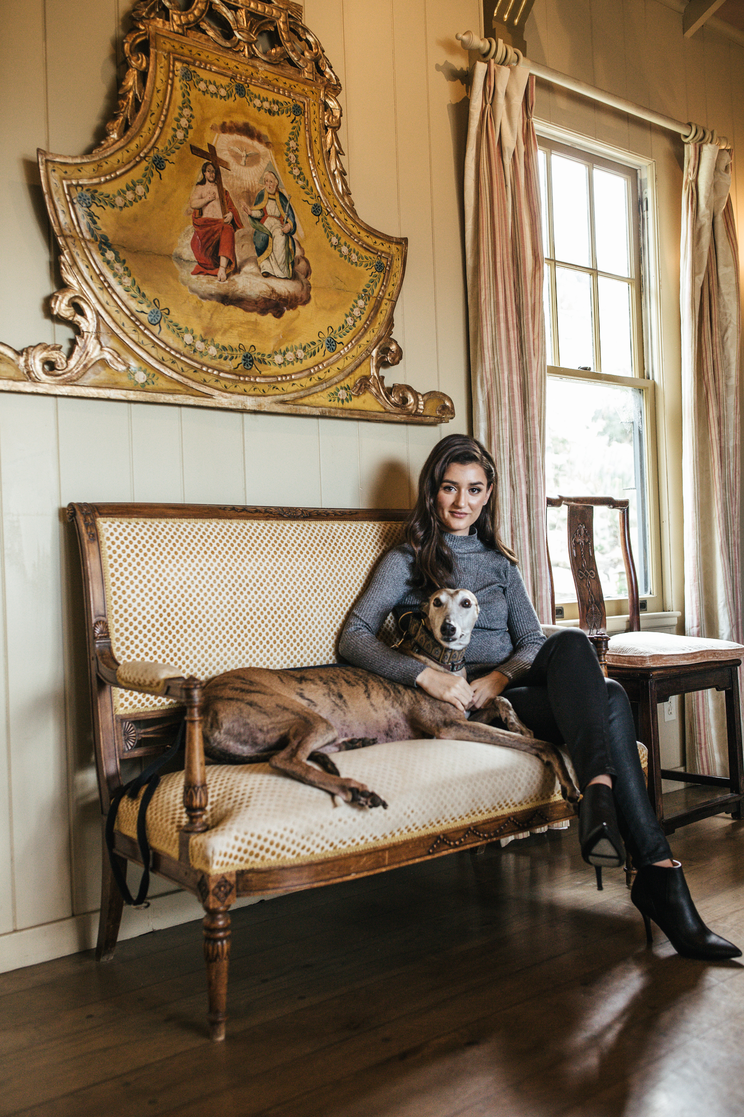 hillary jeanne photography - teryn grey, greyhound dogs, stinson beach mansion
