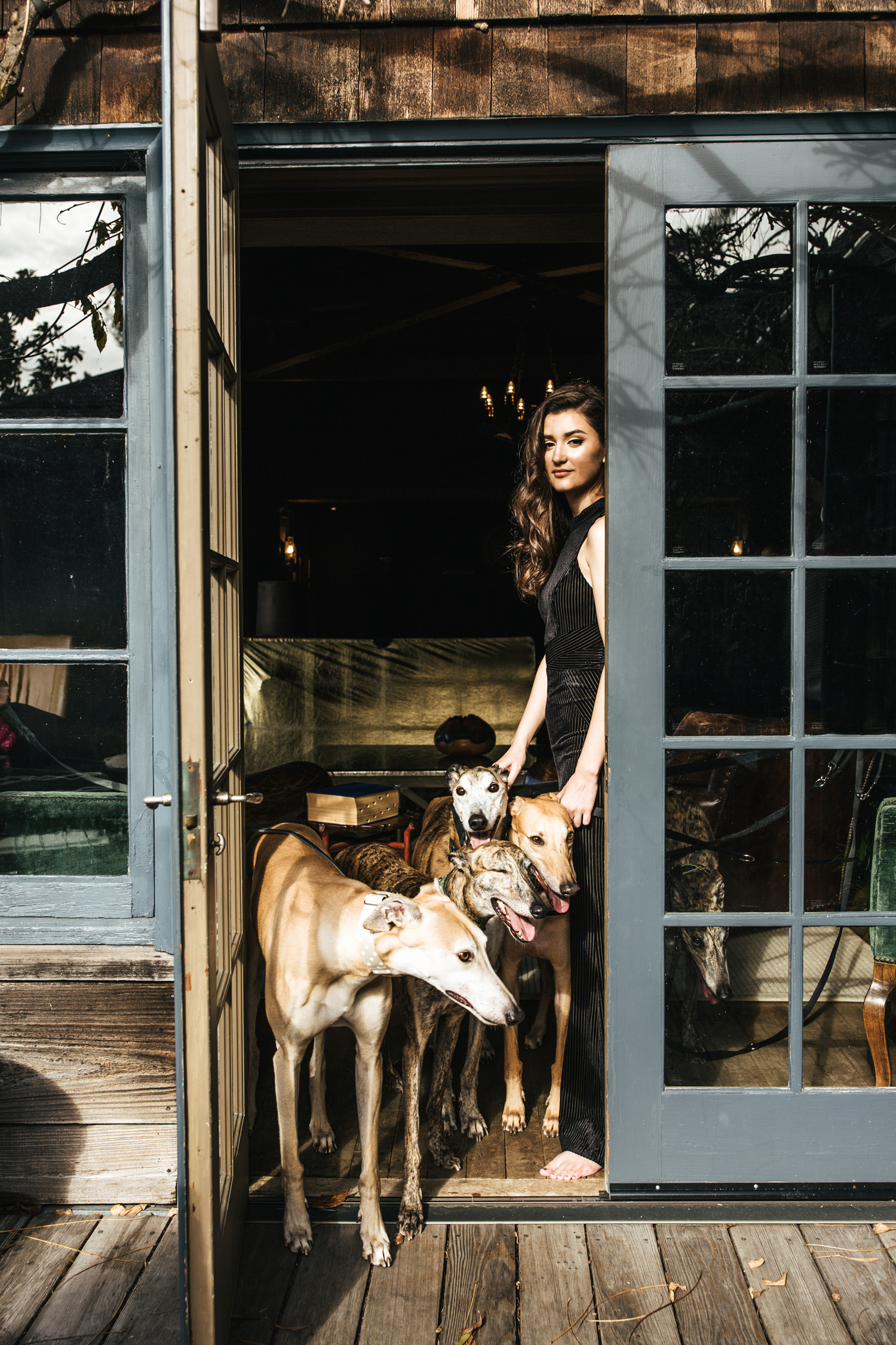 hillary jeanne photography - teryn grey, greyhound dogs, fashion blogger, stinson beach mansion