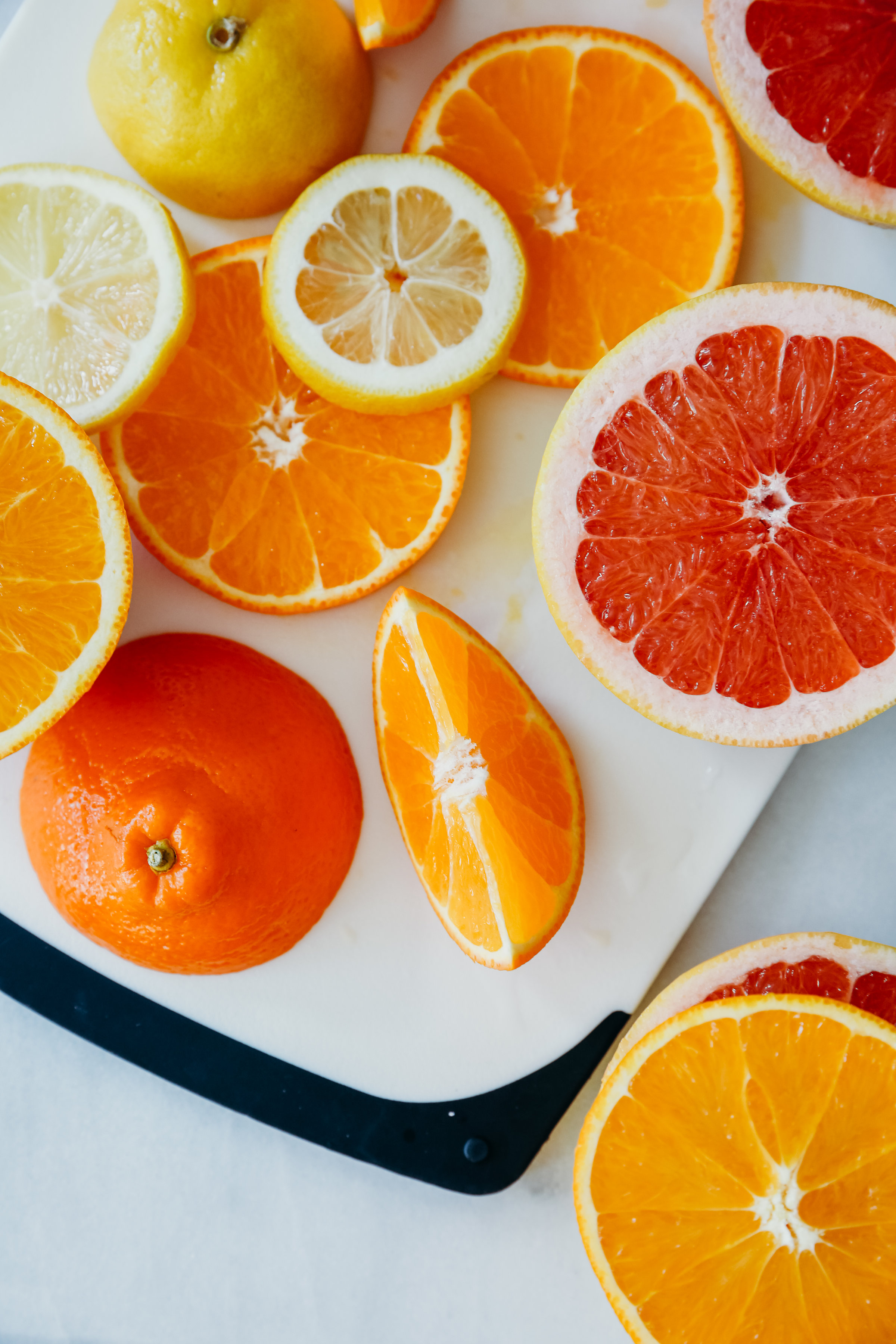 Oranges, Lemons, and Grapefruit | Hillary Jeanne Photography | Food Photography