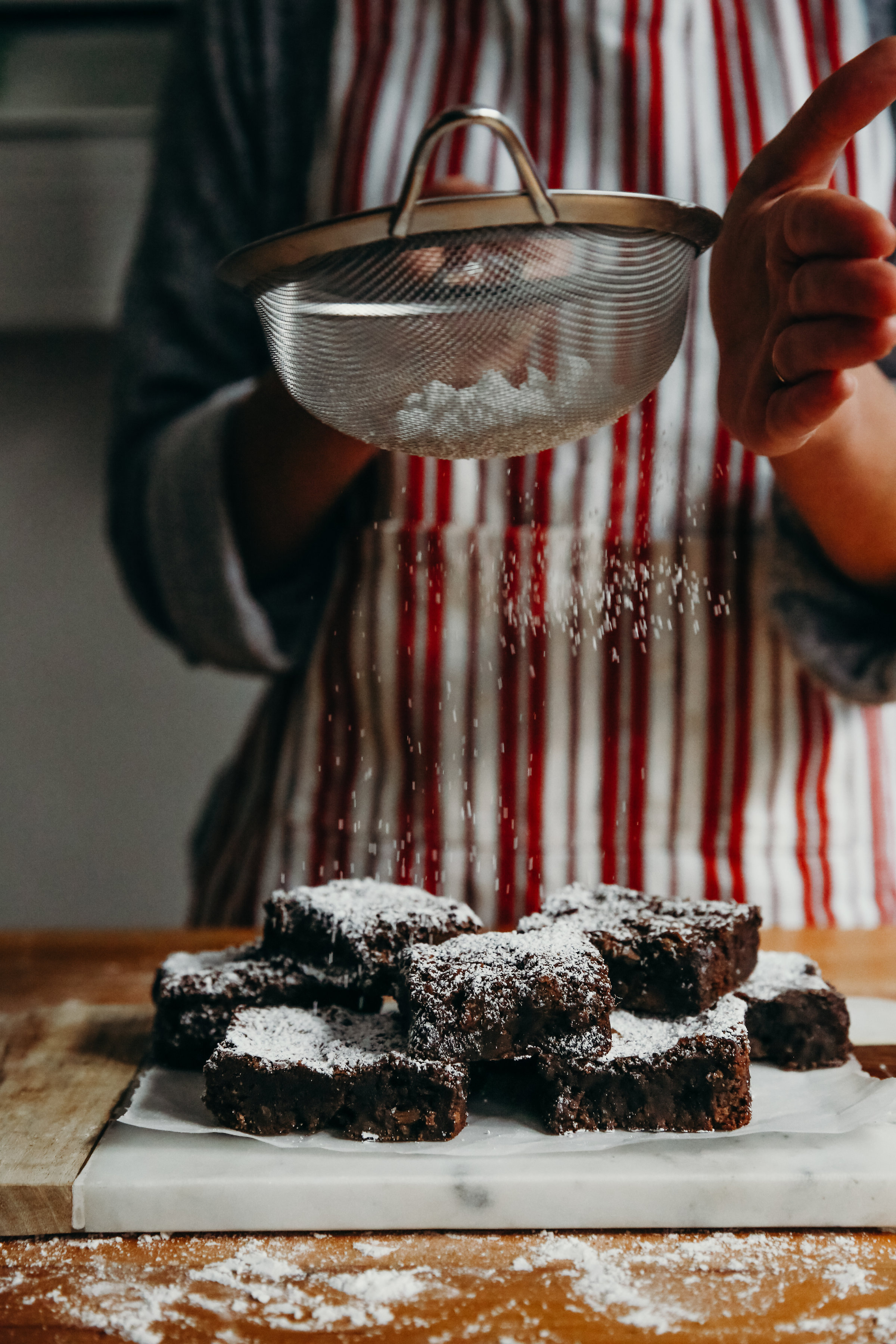 Brownies and Kitchen Baking | Food Photography | Hillary Jeanne Photography