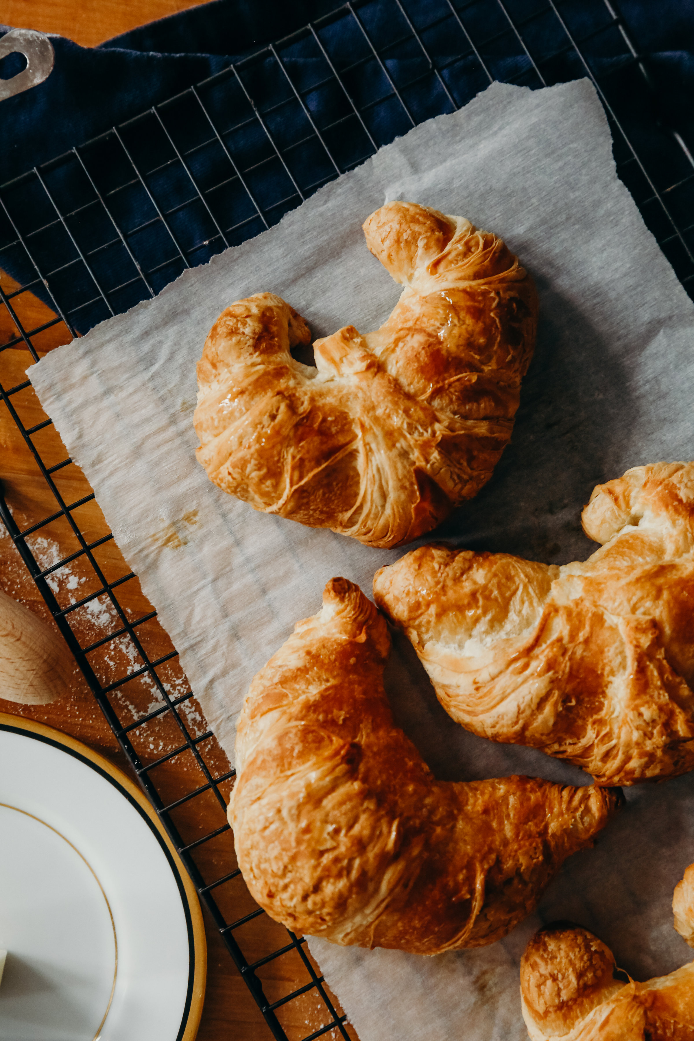 Croissants and Kitchen Baking | Food Photography | Hillary Jeanne Photography