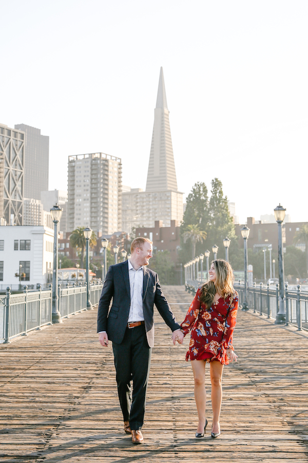 San Francisco Pier 7 Engagement Session