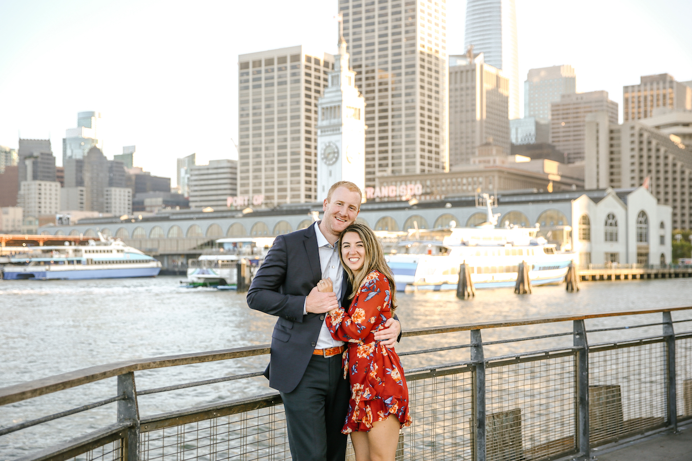 San Francisco Embarcadero + Ferry Building Engagement Session