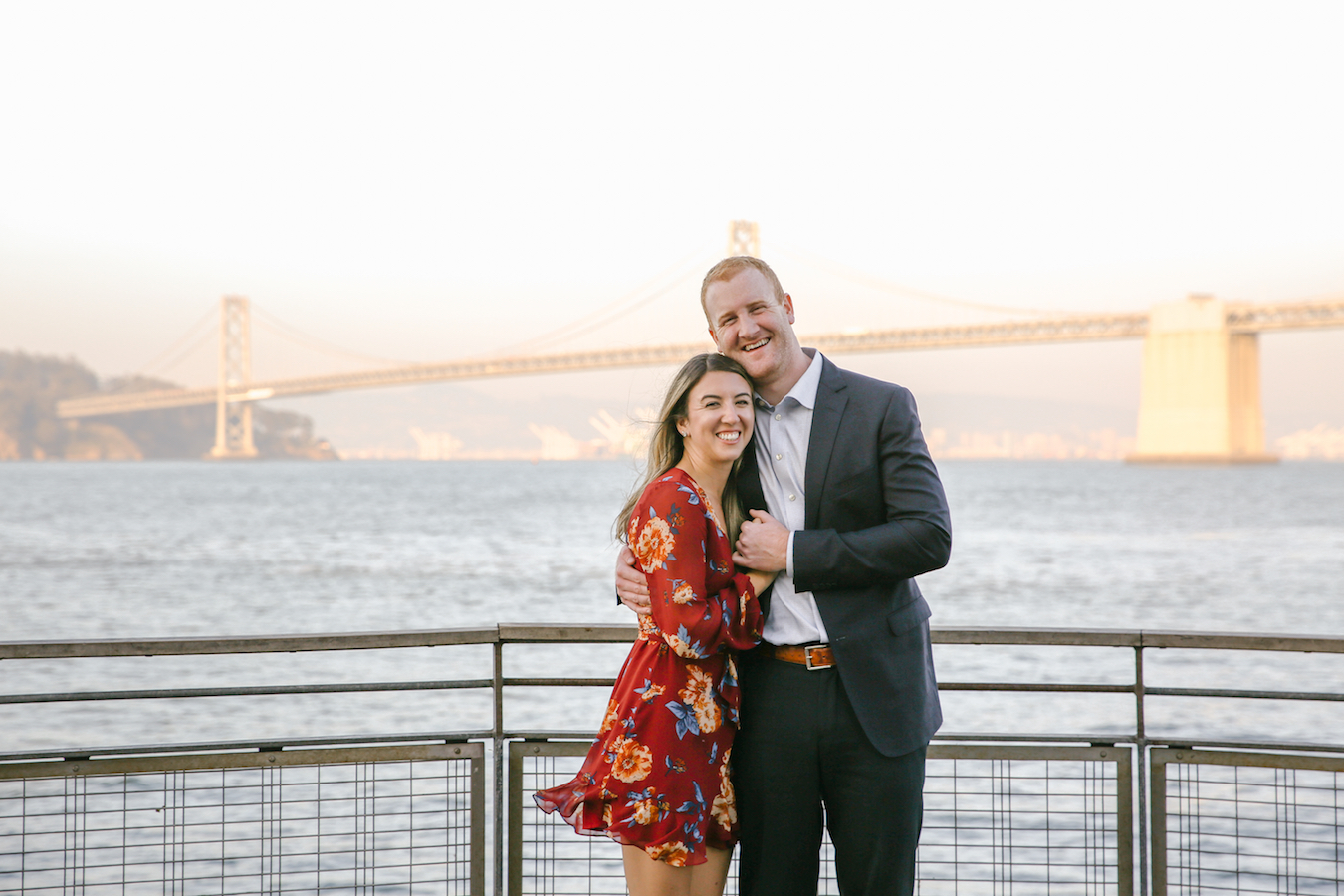 San Francisco Embarcadero + Bay Bridge Engagement Session