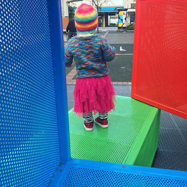 Wednesday adventures with my little one💙💚�� #southdunedin #createdunedin