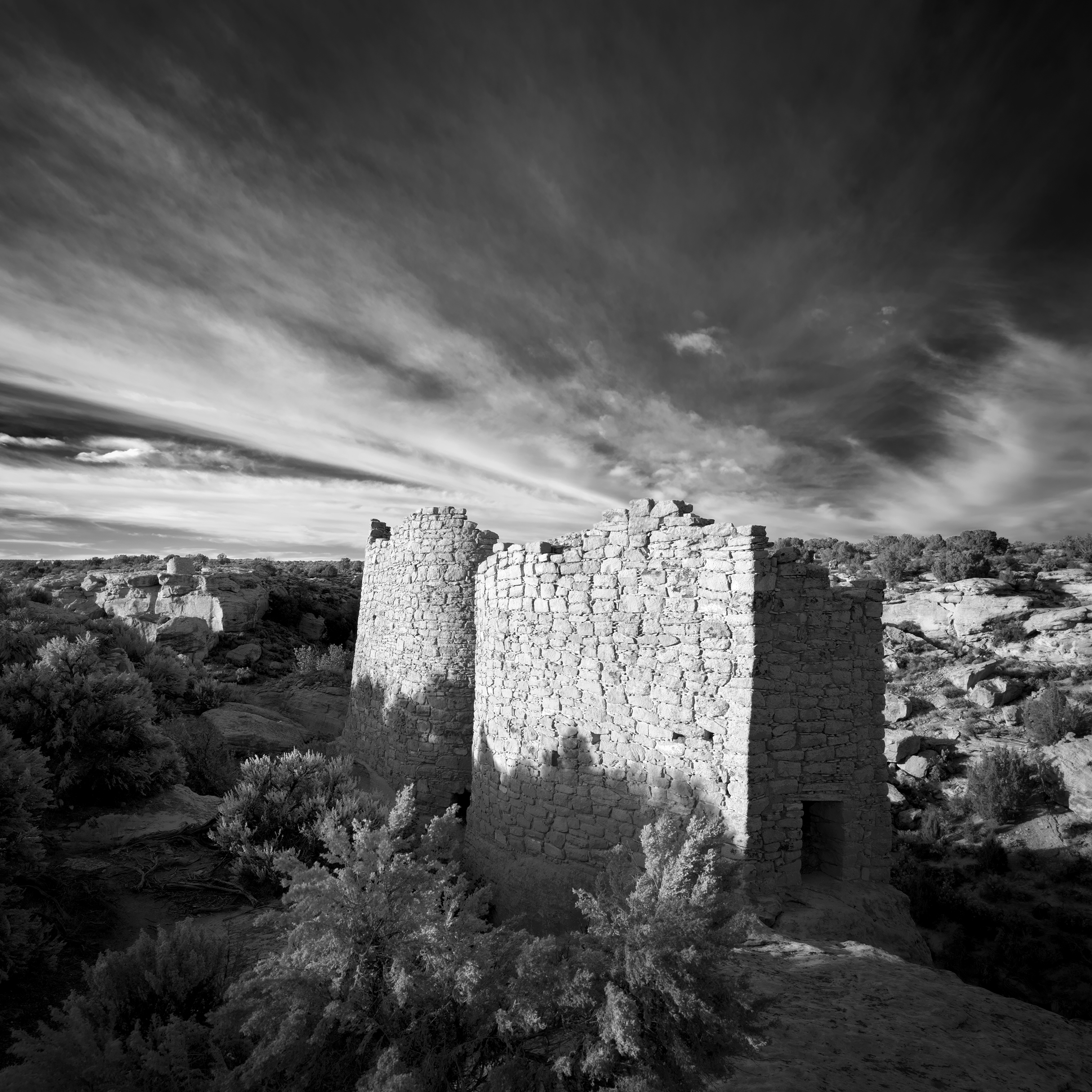 Twin Towers of Hovenweep