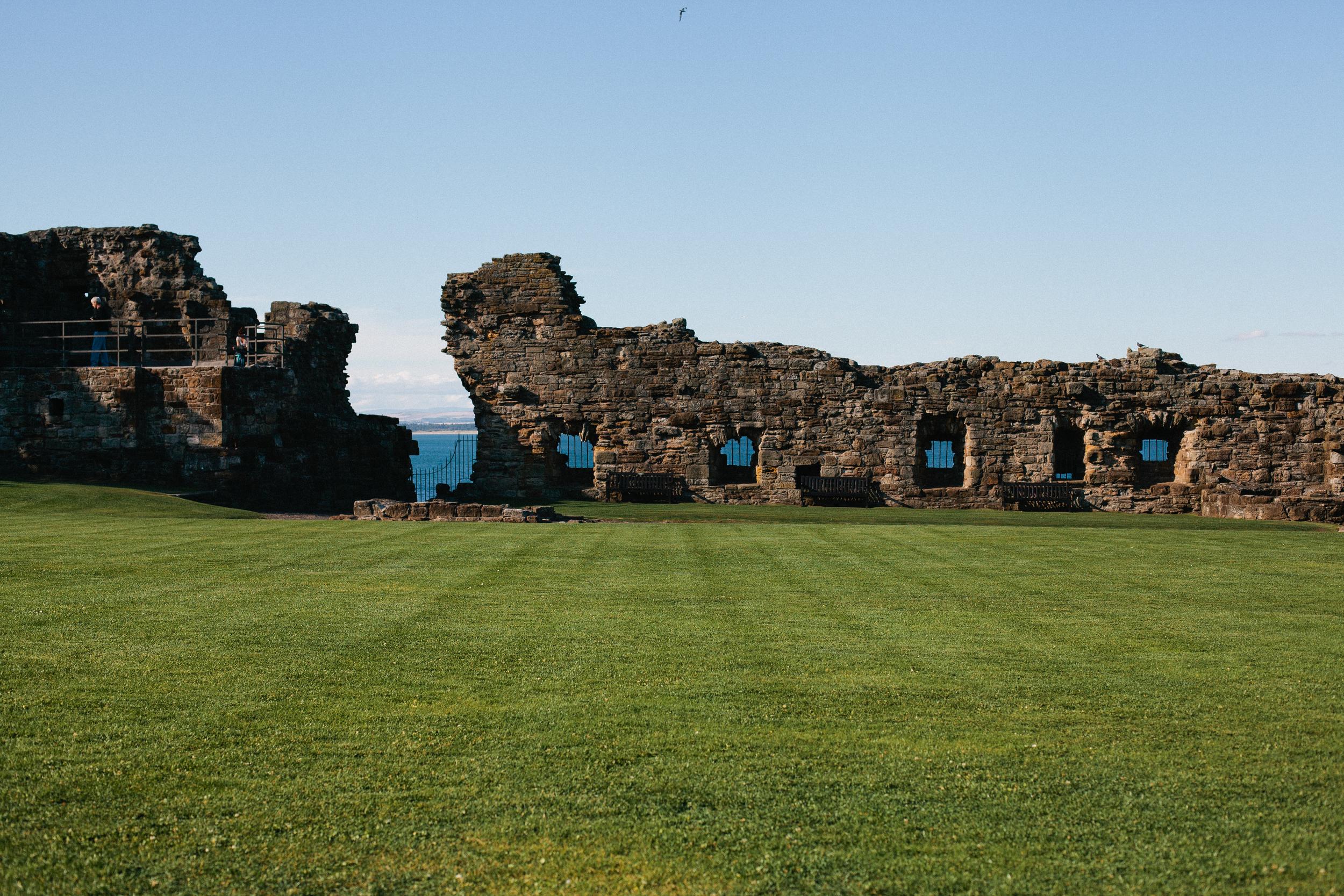 St Andrews Scotland Castle