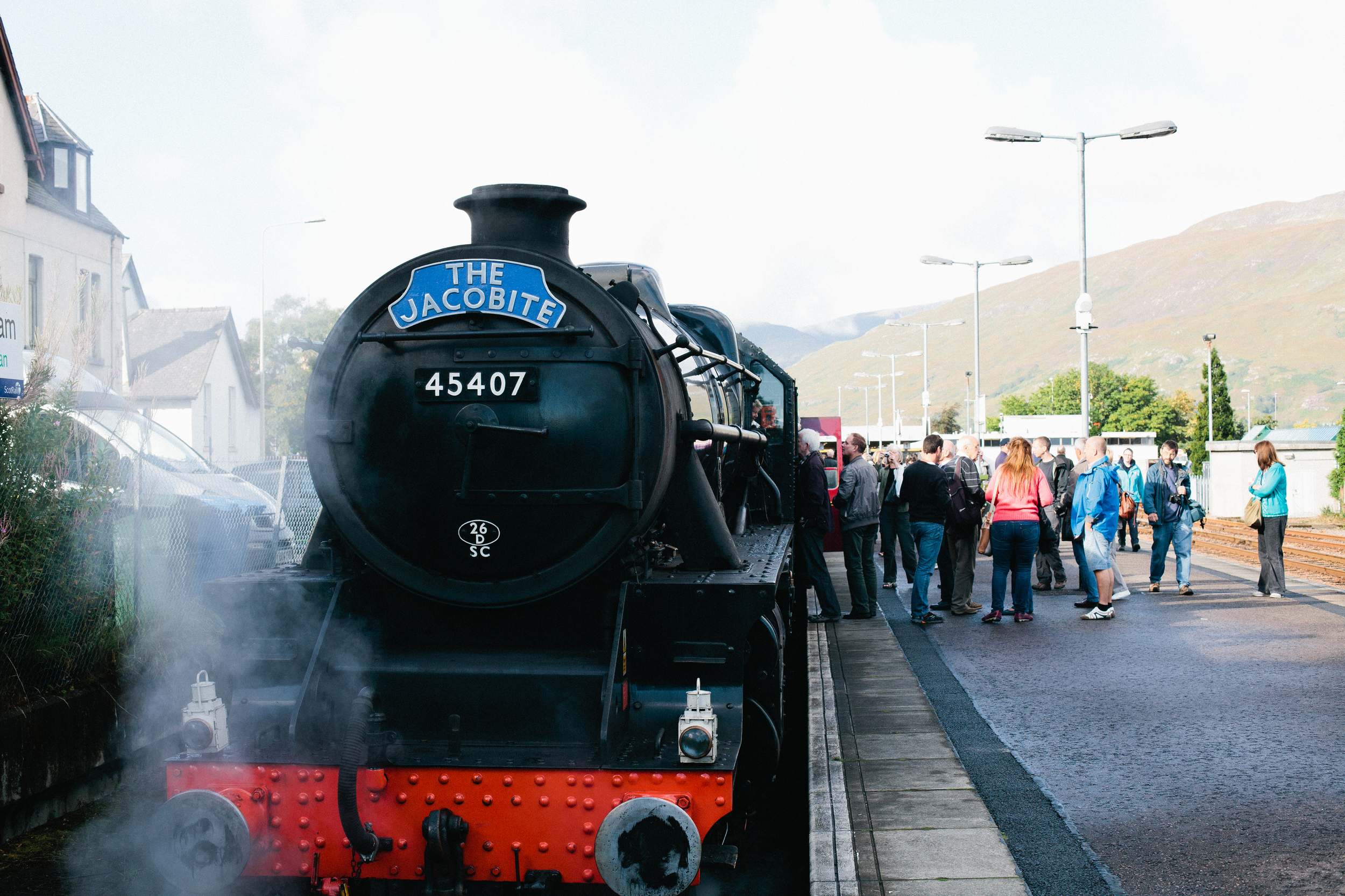 Jacobite Steam Train Ft William