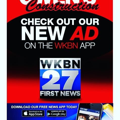 Follow us!!! #news #add #wkbn #27 #advertisement