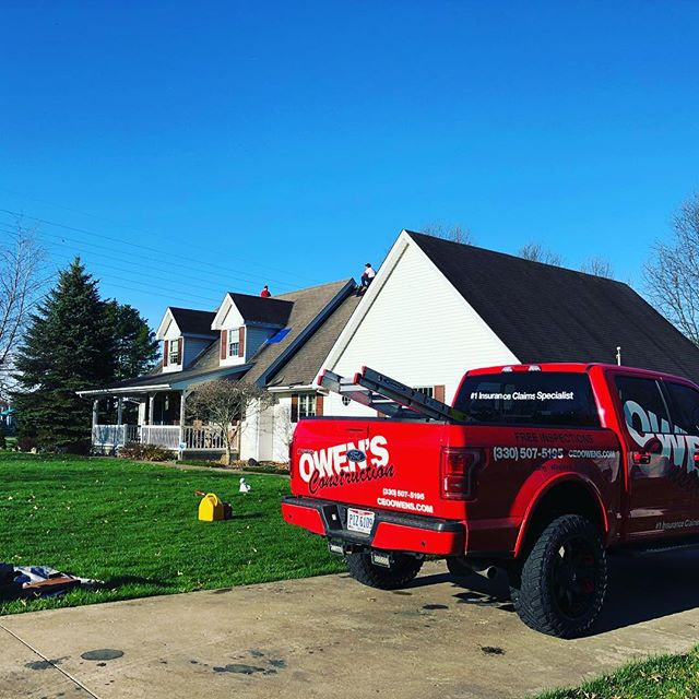 ANOTHER ONE JUST BEGUN , thanks Colleen #thursday #roofing #roofs