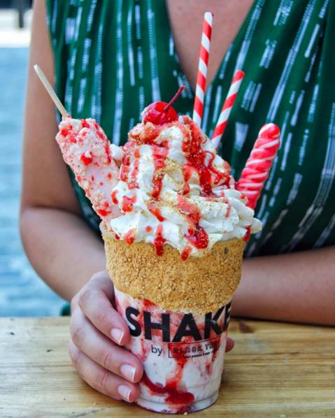 Strawberry Shortcake Shake