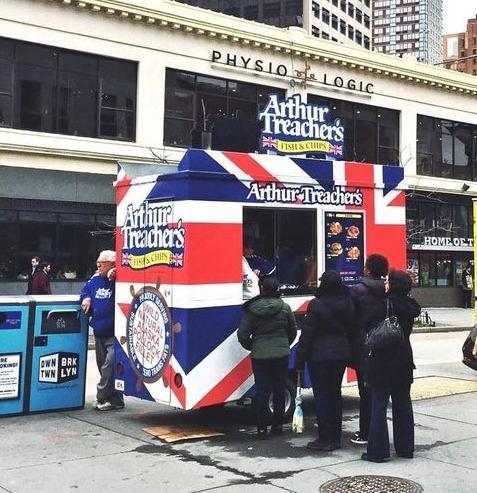 Arthur Treacher's NYC Food Cart