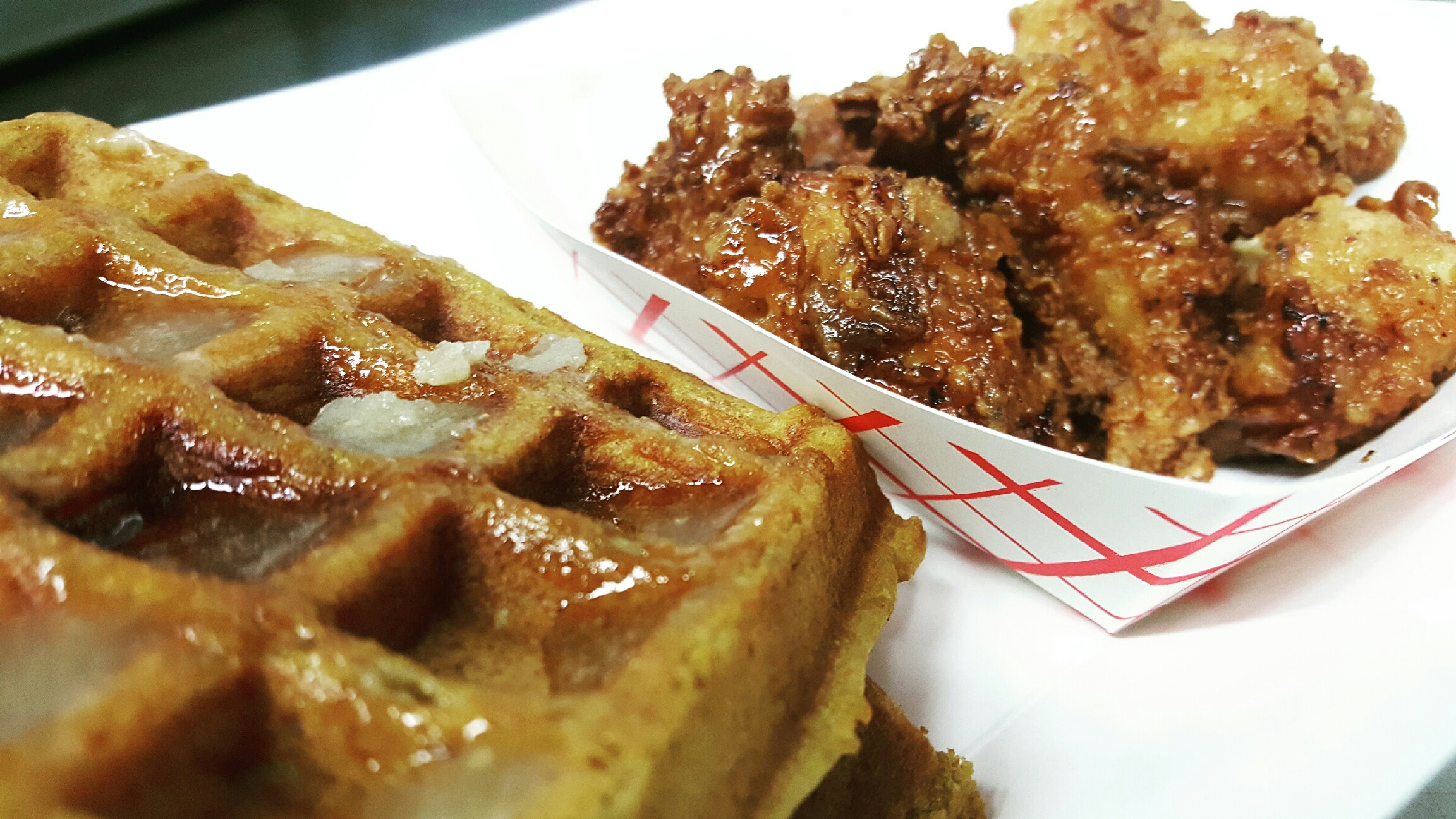 STUF'D Chicken and Waffles