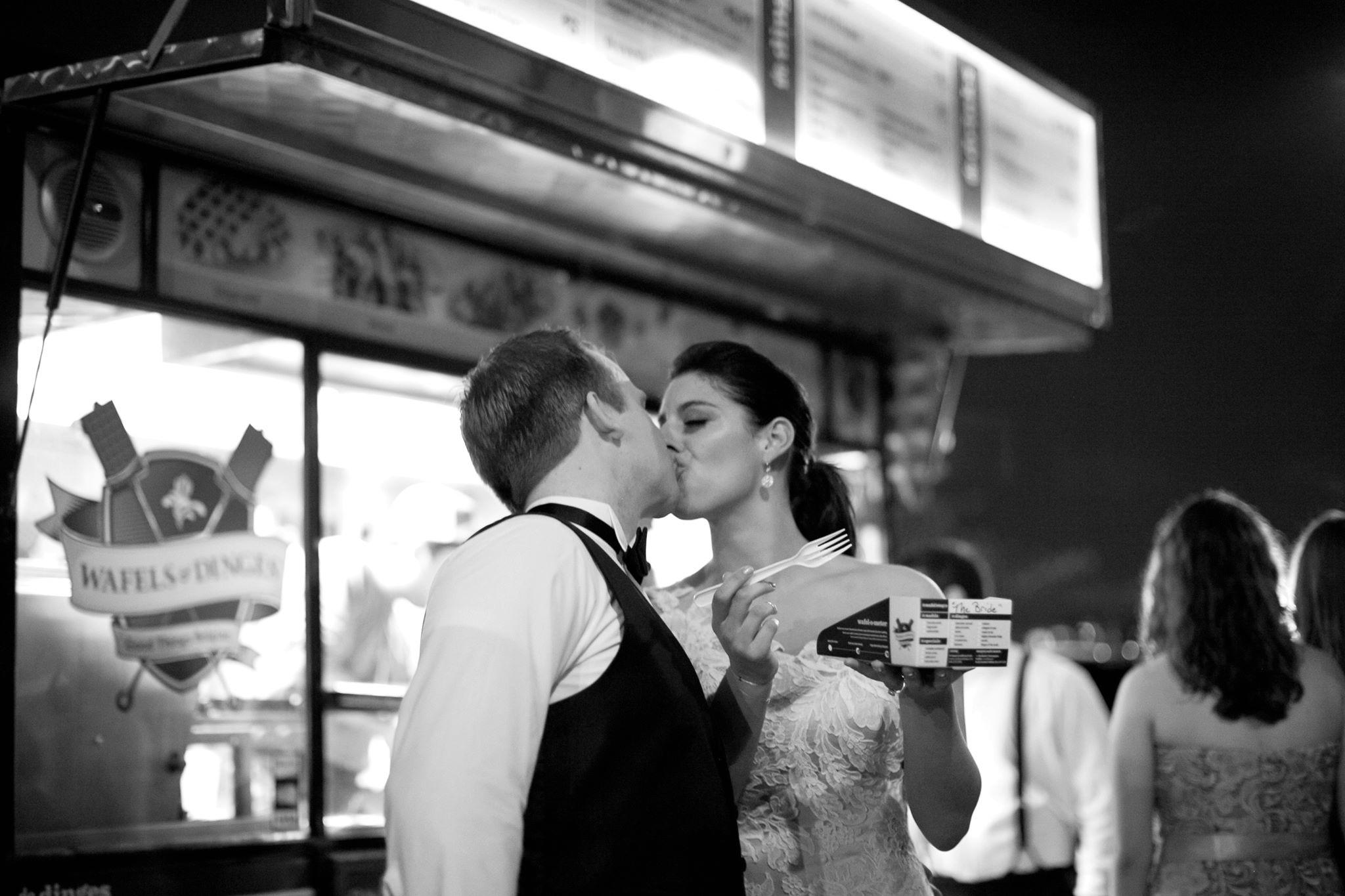 Wafels & Dinges Food Truck Wedding