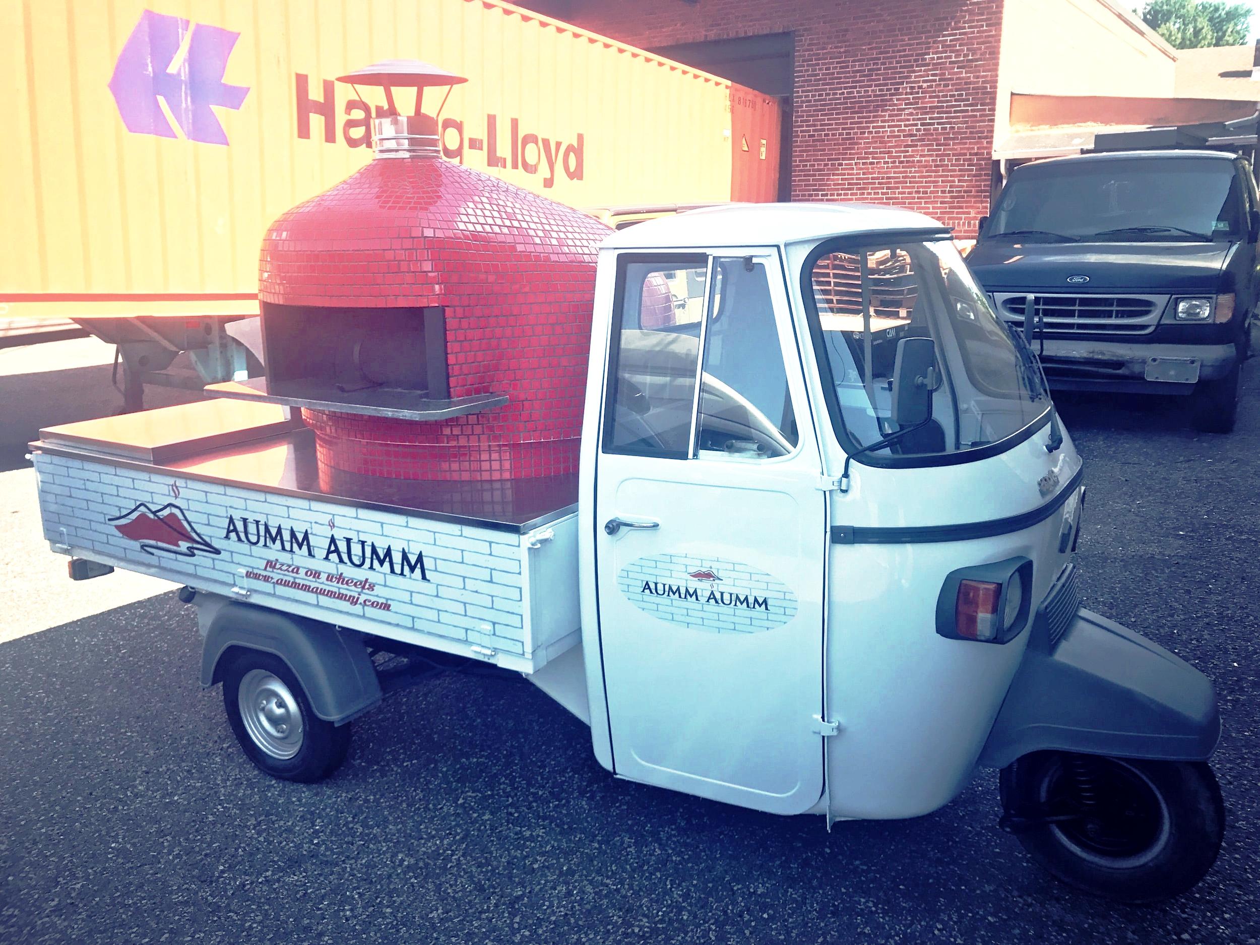 Aumm Aumm Ponti Rossi Pizza Cart