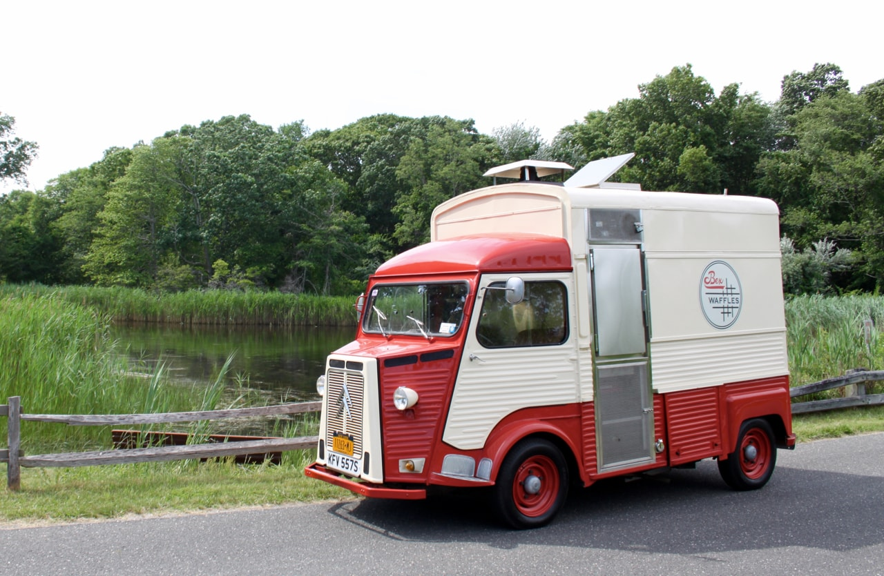 Bex Waffles 1977 French Citroen H Van