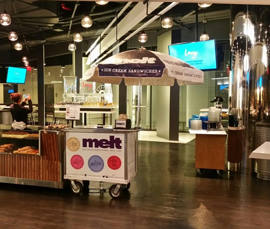Melt Cart Indoors