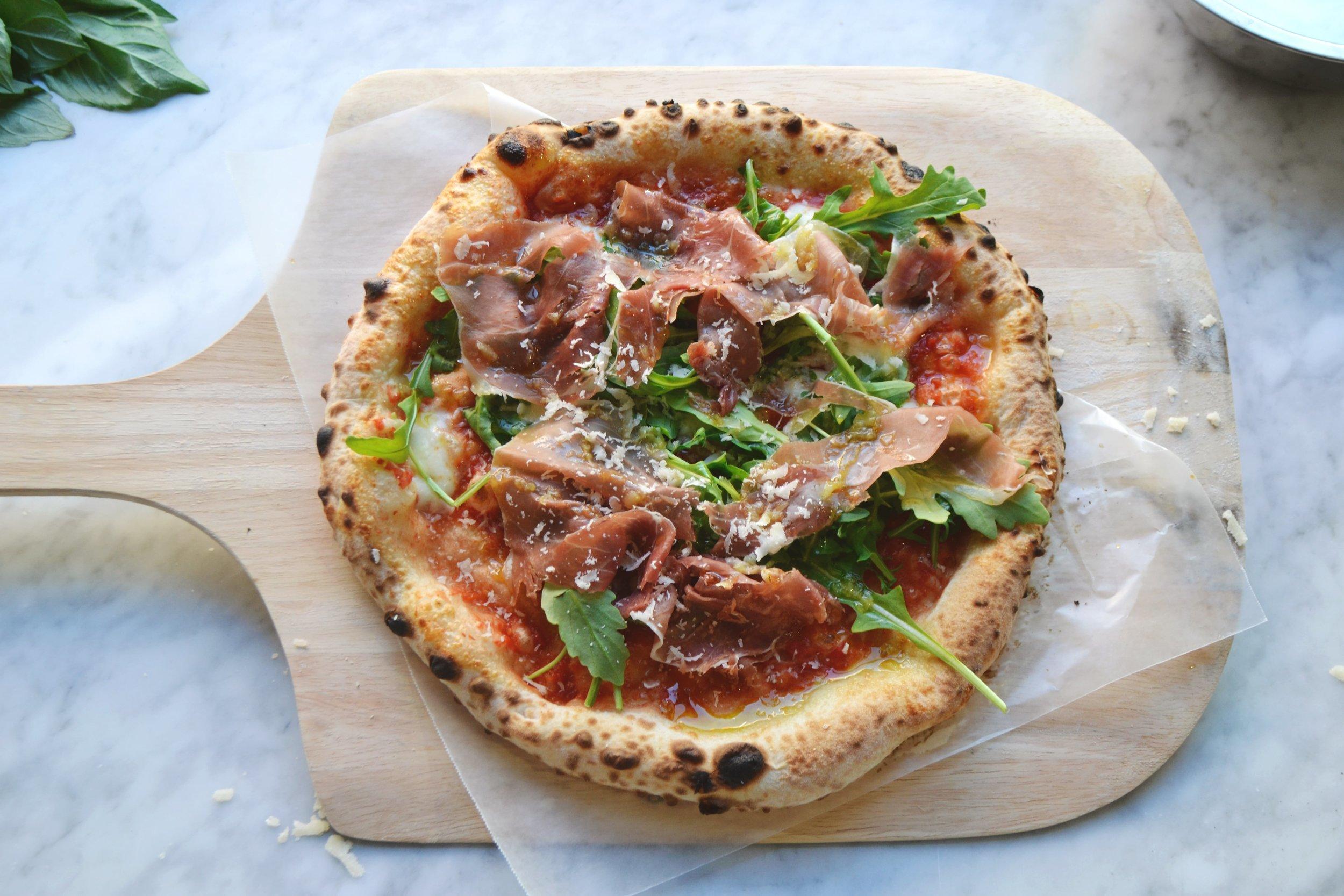 Neapolitan Express Proscuitto di Parma Pizza