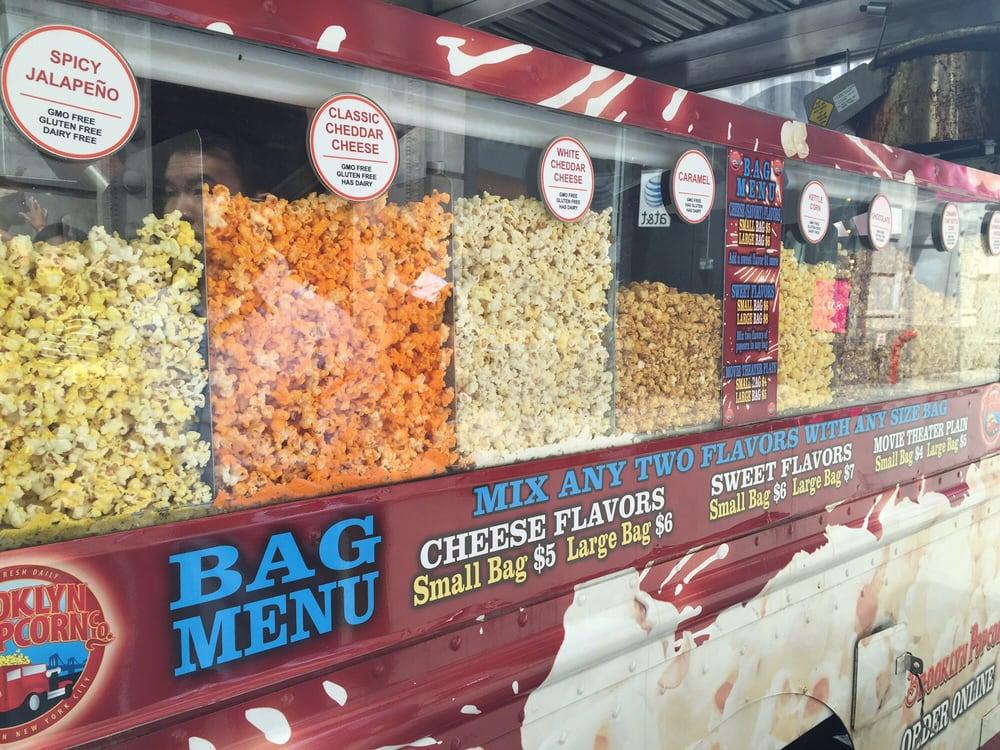 Brooklyn Popcorn Flavors