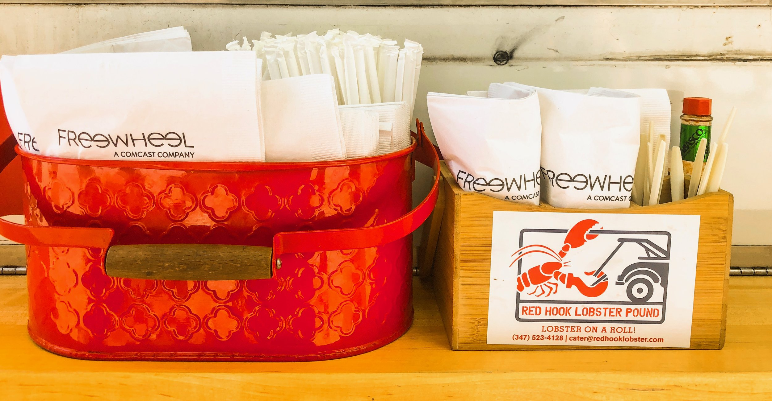 Freewheel.tv partnered with Red Hook Lobster Pound and created the perfect way to bring brand awareness to a lunch hour