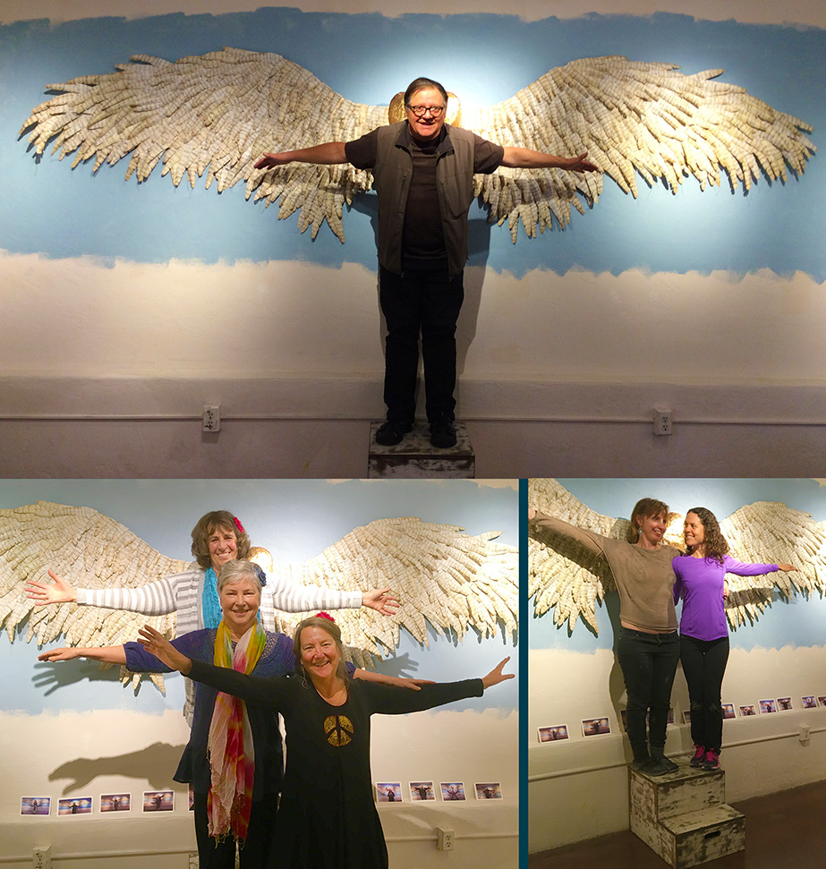 """""""Wings of Hope""""  Marylu Weaver Meagher"""
