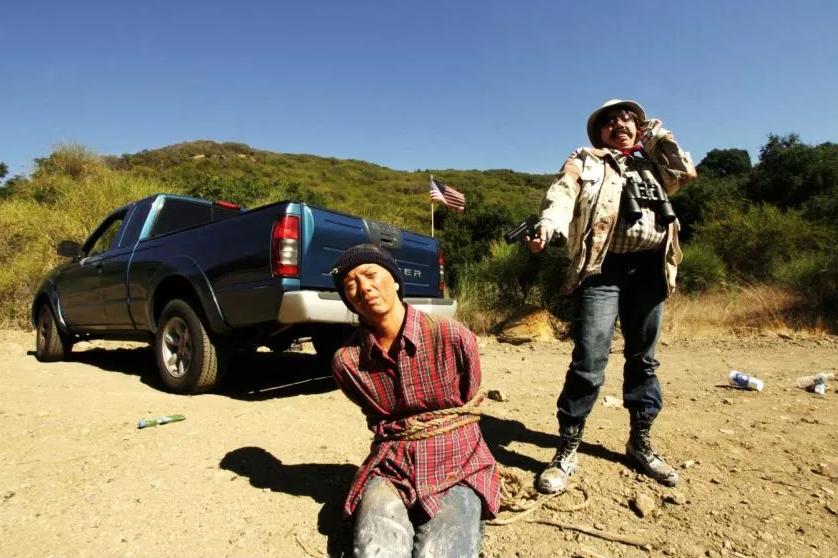 IMAGE COURTESY OF THE ARTIST DoppelANGER-Self as border patrol by Sinan Revell