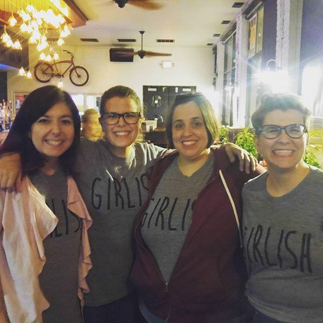 NYC Fringe Ladies reunion!