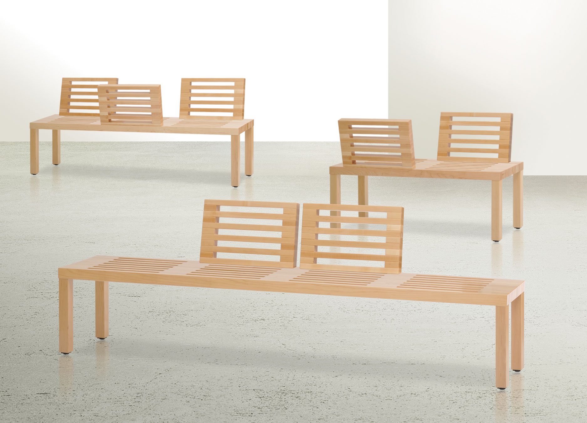 "Integra Seating ""Deluth"" bench"