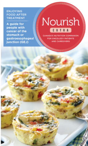 Issue 2:Enjoying food after treatment. A guide for people with cancer of the stomach or gastroesophageal junction (GEJ)