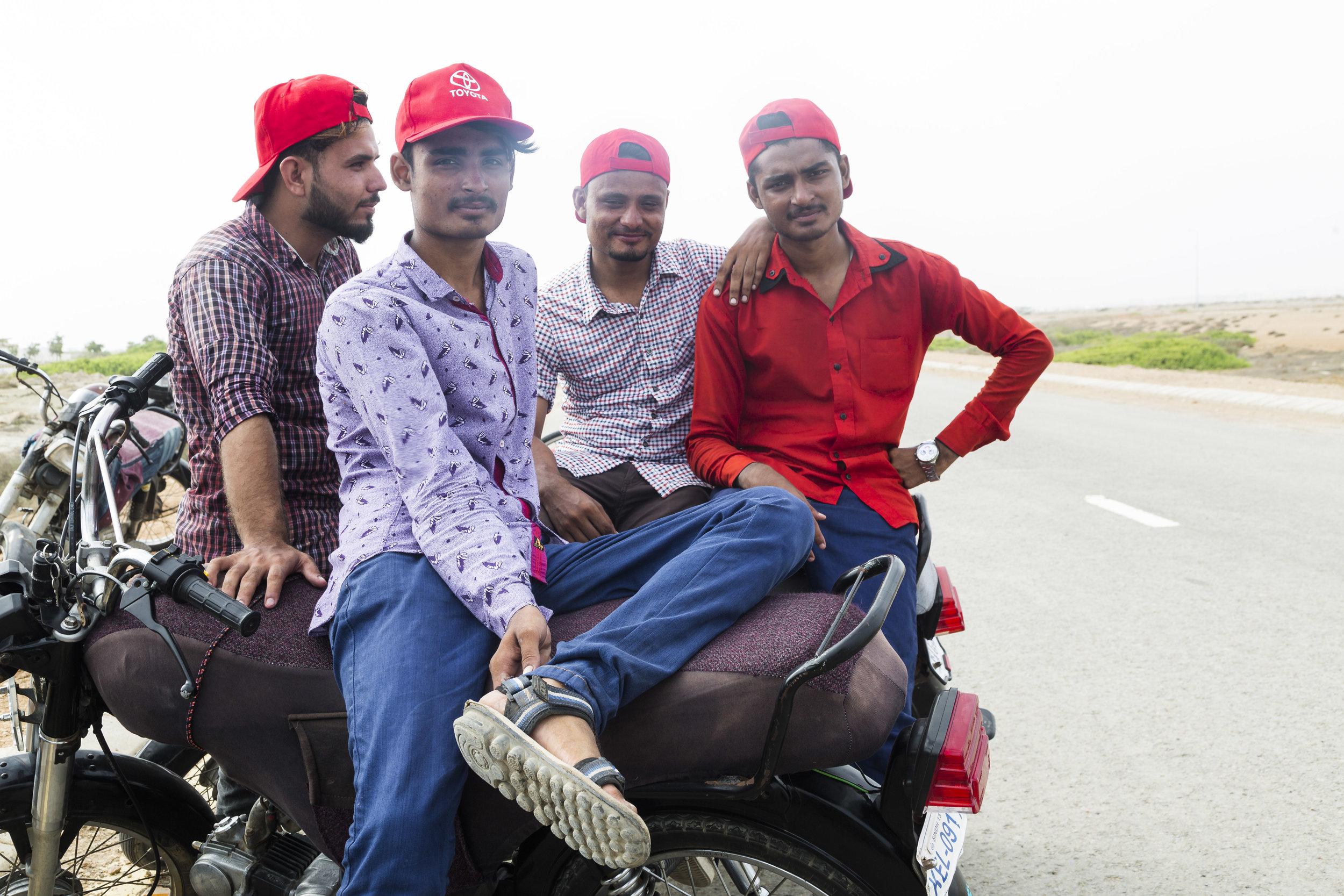 Trainers Abdullah Bangash, Muhammad Hamza, Zeeshan Bangash, and Muhammad Muzammil. June 30, 2019