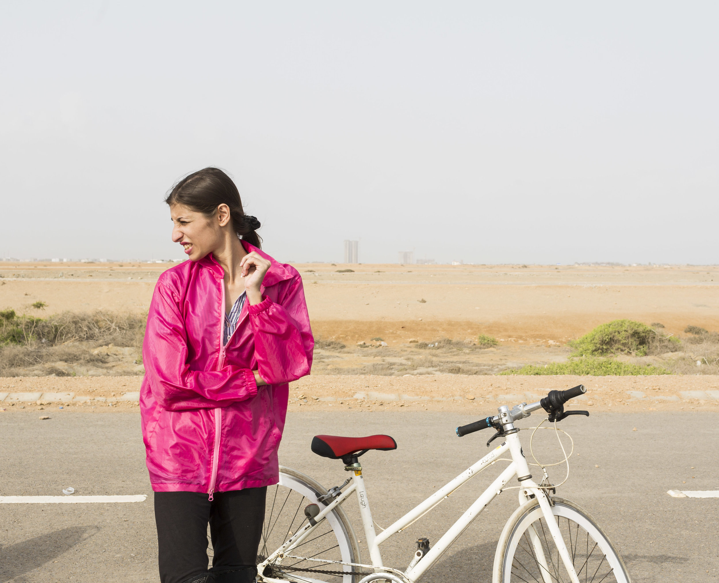 Katrina Bharucha, a senior trainer for Pink Riders on July 7, 2019