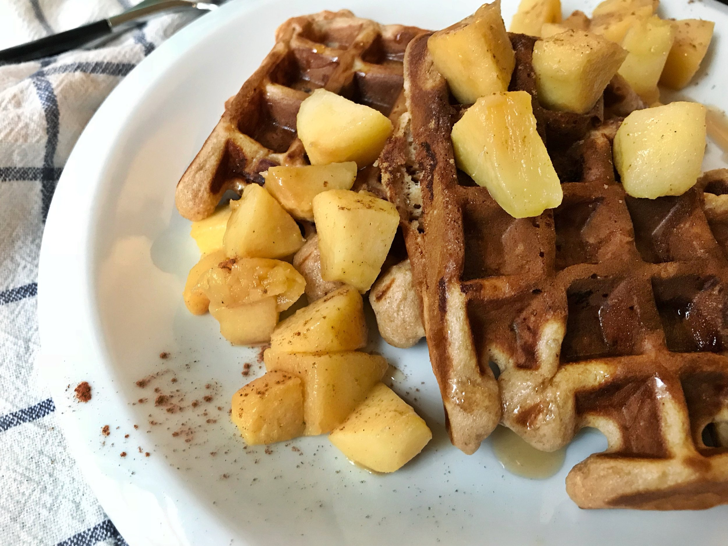 honey-apple-spice-waffle
