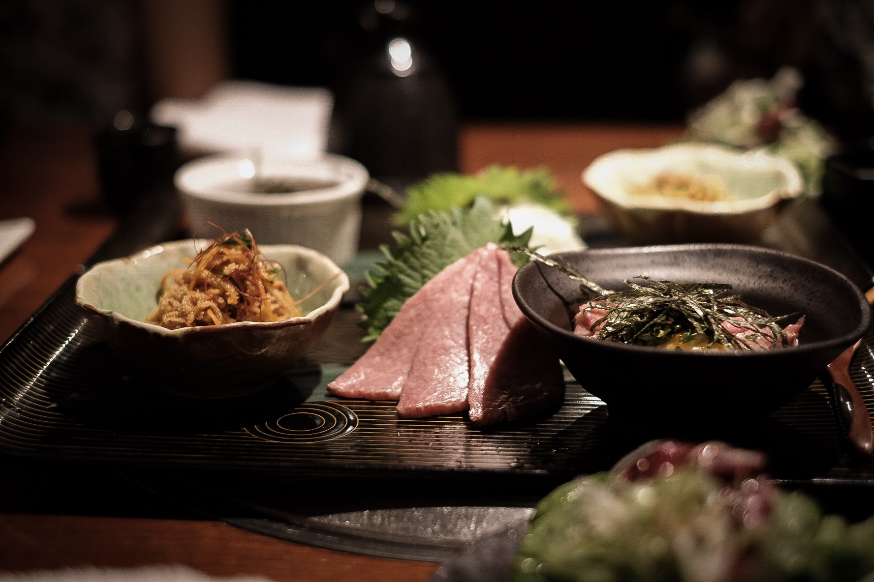 yoroniku - one of the best meals入口即化的牛肉
