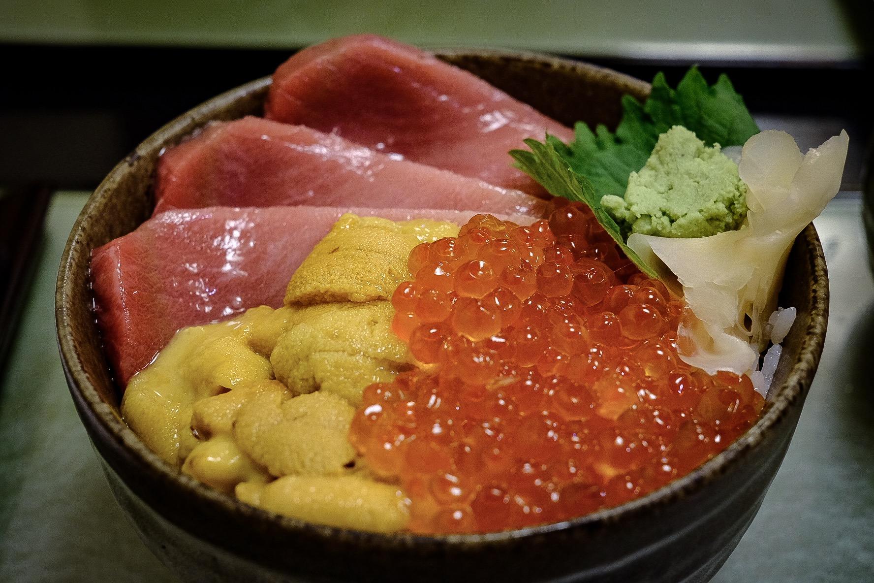 鮨國 - 築地/寿司 sushikuni uni rice bowl