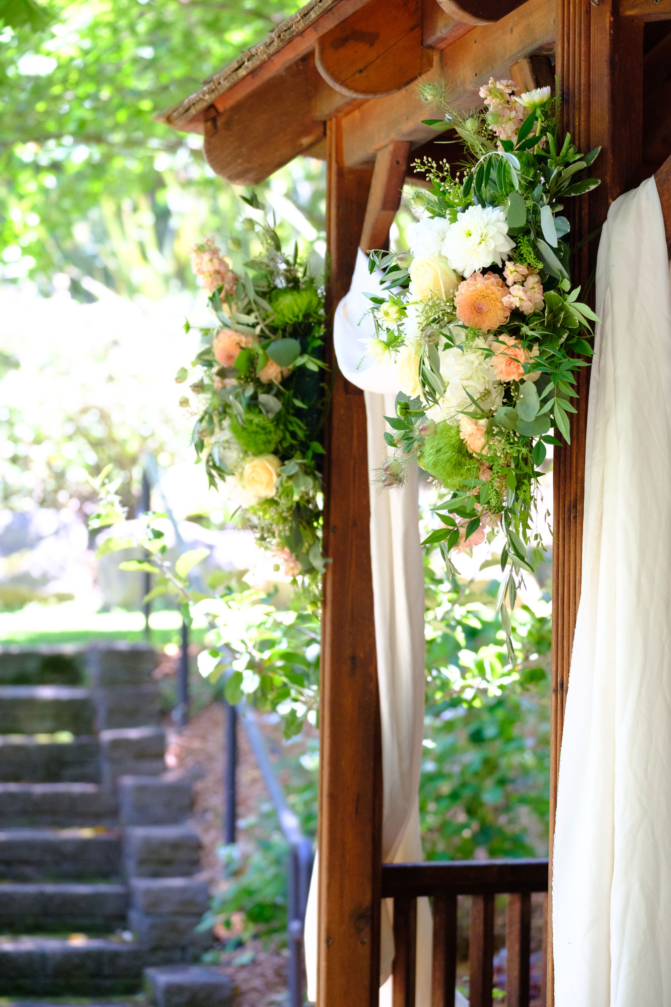 Wedding Arch Healdsburg