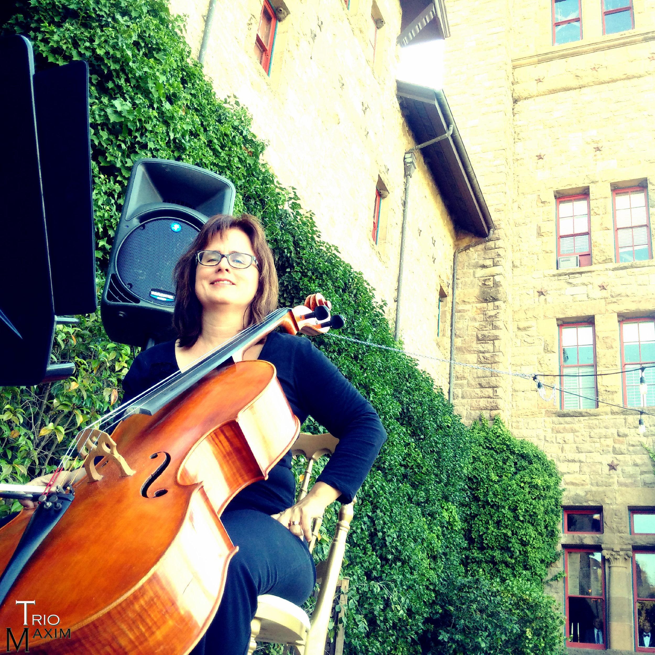 Jennifer Butler - cello Trio Maxim