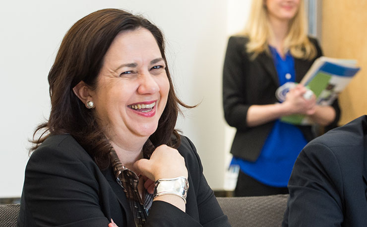 Queensland Premier Annastacia Palaszczuk. (IMAGE: NREL, Flickr)