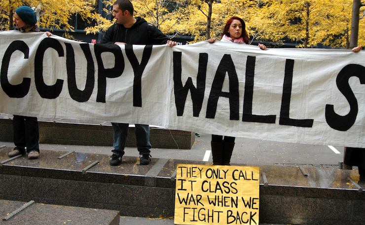 Occupy Wall Street protesters in 2011. (IMAGE: Terrapin Flyer, flickr)